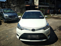 2016 TOYOTA VIOS 1.5 J Spec FULL(AUTO)2016 Only 1 Uncle Owner 27K Mileage with TOYOTA WARANTY DVD GPS REVERSE Cam