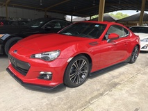2013 SUBARU BRZ GT 2.0 Boxer GST Inclusive D4S 200hp 6 Speed LSD VSC Sport Push Start Button Paddle Shift Steering