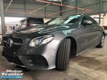 2018 MERCEDES-BENZ E-CLASS E300 AMG COUPE NEW CAR