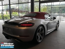 2017 PORSCHE BOXSTER S 718 2.5 VTG Porsche UK Approved Pre Owned GT SILVER Sport Design Package
