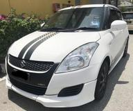 2013 SUZUKI SWIFT SPORT LIMITED