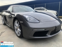 2017 PORSCHE CAYMAN 2.0L TURBO