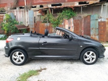 2003 PEUGEOT 206 2 DOOR CONVERTIBLE HARDTOP 1 ARTIST OWNER LIKE NEW CAR