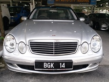 2003 MERCEDES-BENZ E-CLASS E270 1 DATO OWNER WITH NICE NUMBER PLATE LIKE NEW CAR
