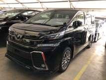 2017 TOYOTA VELLFIRE 2.5 ZG Sunroof New Car