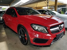 2015 MERCEDES-BENZ GLA 45 AMG 2.0Panoramic Roof Japan LED Unregistered GST INCLUDED PRICE