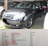 2008 SUZUKI SX4 SX4 1.6