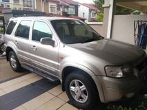 2001 FORD ESCAPE 2.0 XLT