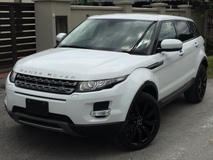2013 LAND ROVER EVOQUE 2.0 (UNREG)