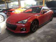2013 SUBARU BRZ 2.0 BRZ 86 GT PRICE WITH GST 2013 ADJUSTABLE SUSPENSION FULL BODYKIT JAPAN UNREG FREE GMR WARRANTY