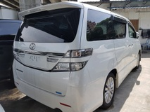 2013 TOYOTA VELLFIRE Z 8 Seaters 2 Power Boodr Unregistered 0% GST PRICE