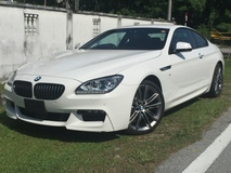 2013 BMW 6 SERIES 640i COUPE 3.0 MSPORT (New Facelift)
