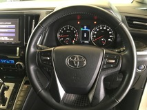 2015 TOYOTA ALPHARD S SERIES 7  8 SEAT POWER BOAT