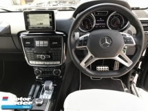 2015 MERCEDES-BENZ G-CLASS G63 5.5 V8 AMG WHISPER BLACK