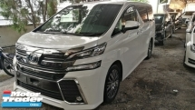 2015 TOYOTA VELLFIRE ZG 2.5 PILOT SEATS / SUNROOF MOONROOF / OFFER PROMOTION READY STOCK / DONT MISS OUT THIS TIME / MANY UNITS