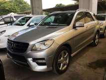 2012 MERCEDES-BENZ ML ML250 2.2 DIESEL AMG SPORT FULL SPEC 2012 UNREG GST INCLUSIVE