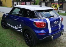 2013 MINI PACEMAN 2013 MINI PACEMAN 1.6A JAPAN SPEC UNREG SELLING PRICE  ( RM 123000.00 NEGO )
