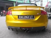 Audi TT Carbon Fiber Rear Diffuser Exterior & Body Parts > Car body kits
