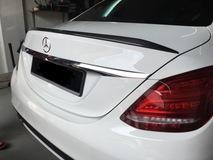 Mercedes Benz C Class W205 Carbon Fiber Spoiler Exterior & Body Parts > Car body kits