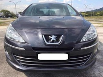 2013 PEUGEOT 408 ACTUAL YEAR MADE 2013