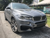 2015 BMW X6 4.4 X DRIVE MSPORT FULL SPEC UK NEW UNREG