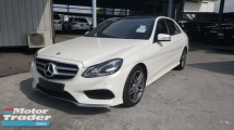 2014 MERCEDES-BENZ E-CLASS 200 AMG Panoramic Roof UNREG 1 YEAR WARRANTY