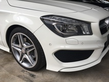 2014 MERCEDES-BENZ CLA CLA250 2.0 TWIN TURBO AMG COUPE JAPAN SPEC