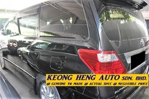 2009 TOYOTA ALPHARD 2.4 S MPV (ACTUAL YR MADE 2009)(REG 2012)(GST INCLU)(1 OWNER)(2 PDOOR 7 SEAT)
