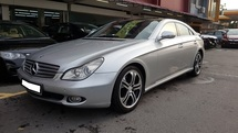 2006 MERCEDES-BENZ CLS-CLASS CLS350 (A) REG 2008, CBU, 2 ELECTRIC SEAT, LEATHER SEAT, UK SPEC, 17