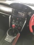 2013 TOYOTA 86 86 GT AUTO NO GST NO GST RED BLACK INTERIOR 2013 JAPAN UNREG