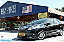 2015 FORD FIESTA 1.0 ( A ) ECOBOOST TURBO CHARGED !! LIMITED EDITION !! LATEST NEW MODEL !! NEW FACELIFT !! PREMIUM HIGH SPECS !! COMES WITH FULL SERVICE RECORD !! FULL BODYKIT !! ( WX 5312 X ) 1 CAREFUL OWNER !!