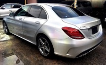2014 MERCEDES-BENZ C-CLASS C180 1.6 Turbo (UNREG) Interest 1.98 n Free One Yrs Smart Wrty