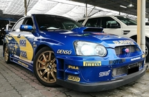 2003 SUBARU IMPREZA WRX STI VER 8 WITH TUNED BY HKS PERFORMANCE