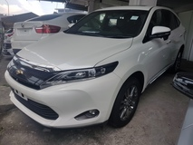 2015 TOYOTA HARRIER 2.0 ELEGANCE PREMIUM (ACTUAL YEAR MAKE 2015) NO HIDDEN AND GST CHARGES