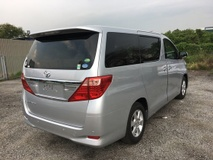 2014 TOYOTA ALPHARD 2.4 X Spec 8seather 2PD Keyless