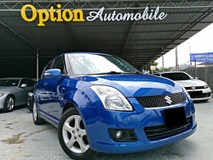 2009 SUZUKI SWIFT 1.5 KEYLESS H/SPEC (AUTO) ORIGINAL LOW MILEAGE 46K DONE