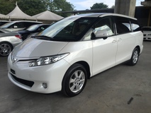 2013 TOYOTA ESTIMA 2.4 VVT-i NO GST 7-SCVT 2 Power Door Front Reverse Camera Dual Zone Climate Keyless Smart Entry Unreg