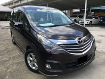 2015 MAZDA BIANTE TIP TOP FAMILY CAR FULON FULL SERVISE RECORD
