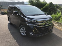 2017 TOYOTA VELLFIRE 2.5 X Unreg 8 Seater 2 Power Door Pre Crash Leather Cover NO GST