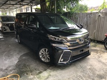 2015 TOYOTA VELLFIRE 2.5 ZA Z A Unreg Roof Monitor No GST Offer