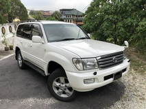 2004 TOYOTA LAND CRUISER VX Limited 4.2 Diesel Turbo 5 Seater Sunroof Airmatic
