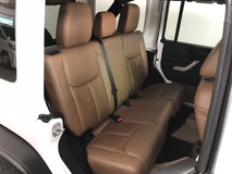 2013 JEEP WRANGLER 3.6 Unlimited Sahara Unreg Bull Bar Leather Seat No GST