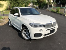 2014 BMW X5 M Sport 3.0 Diesel Turbo xDrive35d Unreg No GST 7 Seater Pre Crash Power Boot 4 Camera Rear Entertainment