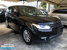 2014 LAND ROVER RANGE ROVER SPORT 3.0 SE Supercharged 5 Surround Camera Meridian Surround Sound System Memory Leather Seat 4 Zone Climate Control Multi Function Paddle Shift Steering Dynamic Terrain Response Auto Cruise Control Bi Xenon Light Smart Entry Bluetooth Connectivity Unreg