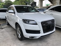 2011 AUDI Q7 3.0 TFSi Petrol NO GST Quattro 333hp MMi Push Start Button BOSE Surround Memory Seat Power Boot Reverse Camera Xenon Light Unreg