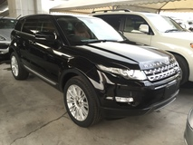 2012 LAND ROVER EVOQUE Range Rover Evoque 2.0 Si4 Turbocharged 5 Surround Camera Panoramic Roof Memory Seat Xenon Light Unreg
