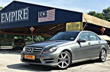 2013 MERCEDES-BENZ C-CLASS C180 ( A ) AMG EDITION !! BLUE EFFICIENCY CGI NEW FACELIFT !! COMES WITH PADDLE SHIFT SPORT MODEL HIGH SPECS !! ( PXX 53 ) 1 CAREFUL OWNER !!