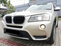 2013 BMW X3 F25 X-Drive X1 20i Full Service Record by Ingress Auto X5