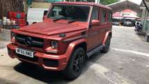 2015 MERCEDES-BENZ G-CLASS G63 5.5 Bi Turbo AMG FULL SPEC UK Premium Car