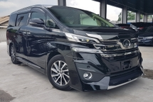 2015 TOYOTA VELLFIRE 2015 Toyota Vellfire 2.5 V Spec 7 Seater Memory Seat 2 Power Door Modelista Bodykit Unregister for sale